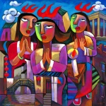 """Holy Spirit Coming,"" He Qi, 2009"